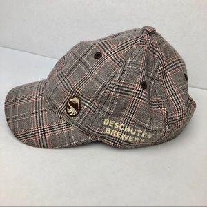 Plaid Schoolboy Deschutes Brewery Embroidered Hat